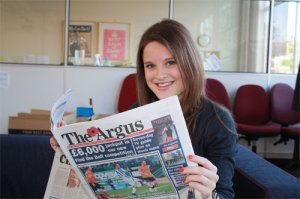 Brighton Journalist Works Student Juliet
